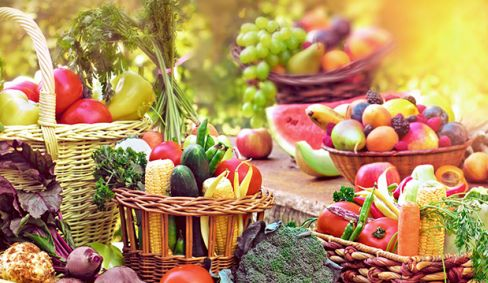 BENEFITS OF EATING FRUITS AND VEGETABLES IN DAILY DIET